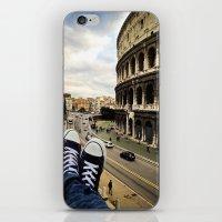 rome iPhone & iPod Skins featuring Rome by Davide Bergamini