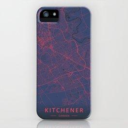 Kitchener, Canada - Neon iPhone Case