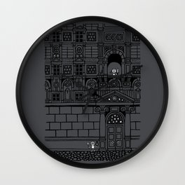 Romeo and Juliet's Penultimate Breath Wall Clock