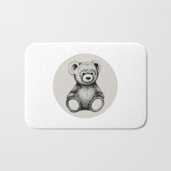 Teddy Bear Bath Mat