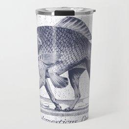 IF FISHES HAD LEGS (navy) Travel Mug