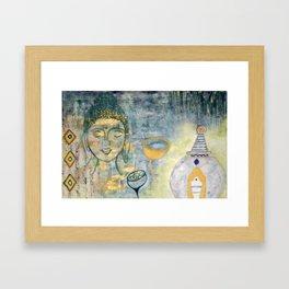 PEACE & HARMONY Framed Art Print