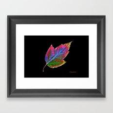 New Leaf Framed Art Print
