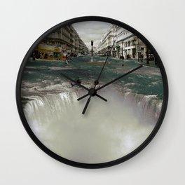 The Street Fall Wall Clock