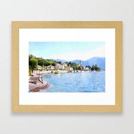 Living Spa Framed Art Print