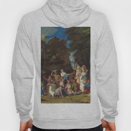 The Feast of the Gods Painting by Giovanni Bellini and Titian Hoody