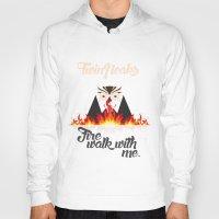 twin peaks Hoodies featuring Twin peaks by sgrunfo