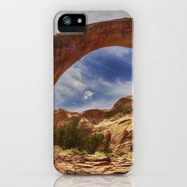 Rainbow Bridge National Monument iPhone Case