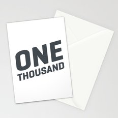 One Thousand Stationery Cards
