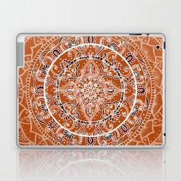 Detailed Burnt Orange Mandala Laptop & iPad Skin