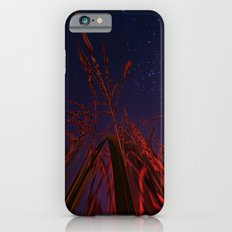 cornfield with moon and stars Slim Case iPhone 6s