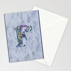 The Letter F Stationery Cards