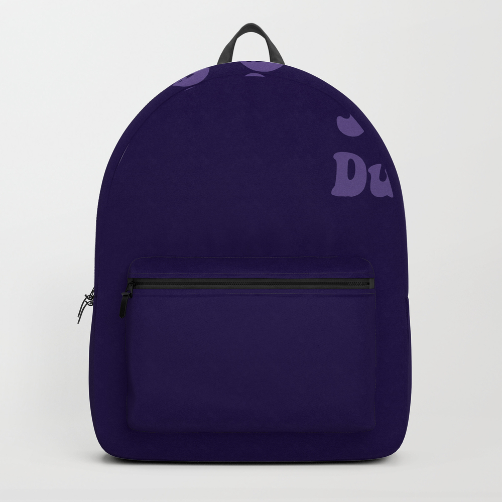 Super Duper - Ultra Violet Backpack by Laurabethlove BKP8480648