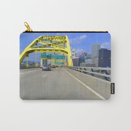 Pittsburgh City Of Bridges Carry-All Pouch