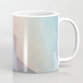 BE WITH ME - TRIANGLES ABSTRACT #PINK #BLUE #1 Coffee Mug