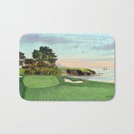 Pebble Beach Golf Course 5th Hole Bath Mat