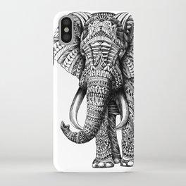 Ornate Elephant iPhone Case