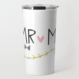 Mr & Mrs Travel Mug