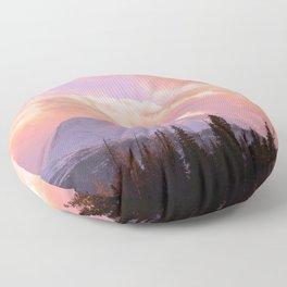 Rose Quartz Turbulence Floor Pillow