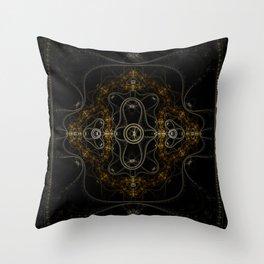 Fractal Art - Fading Throw Pillow