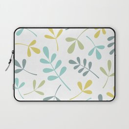 Assorted Leaf Silhouettes Color Mix Laptop Sleeve