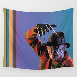 Three,Four, Better Lock Your Door Wall Tapestry