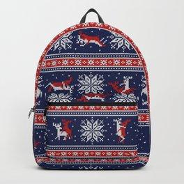 Christmas deer kamasutra Backpack