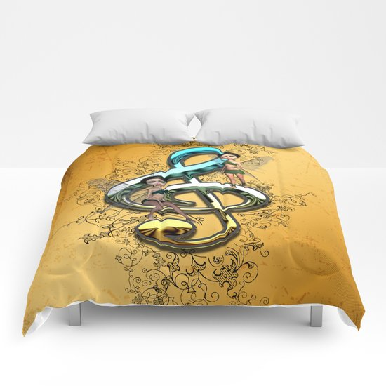 Decorative clef  Comforters
