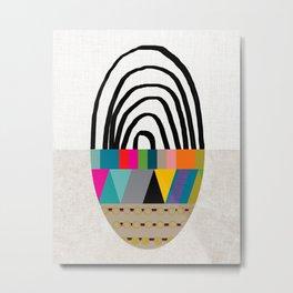 """Mod Sphere"" Art Print Metal Print"
