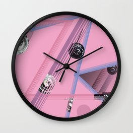refractions Wall Clock