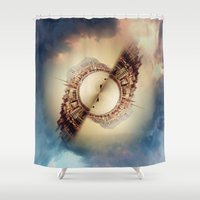 budapest Shower Curtains featuring Budapest by Petra Heitler