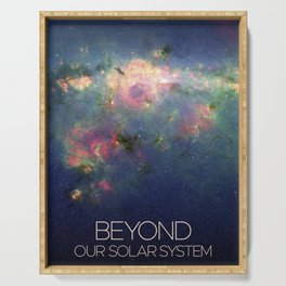 Solar System and Beyond: Nebula Serving Tray