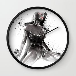 Fetish painting Wall Clock