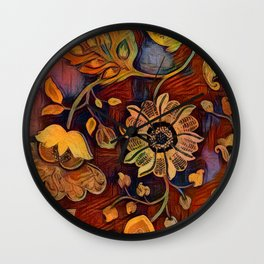 Richness of Color Wall Clock