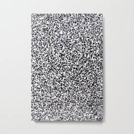 Terrazzo Texture Print Metal Print