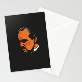 Vito Corleone - The Godfather Part I Stationery Cards