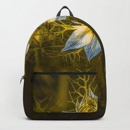 Dancing elves and Cosmos bipinnatus  Backpack