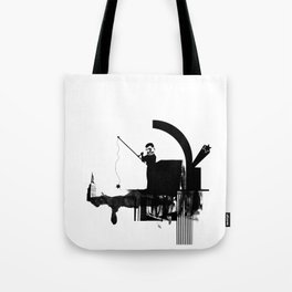 Fishing for Compliments ... Tote Bag