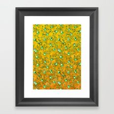 Frog Festival Framed Art Print