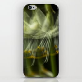 Blurring the flower iPhone Skin