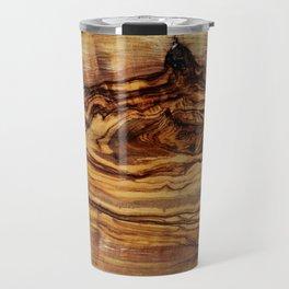 olive tree wood Travel Mug