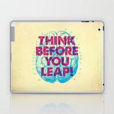 Think Before You Leap Laptop & iPad Skin
