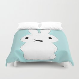 My Lips Are Sealed Duvet Cover