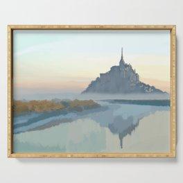 Le Mont Saint Michel Serving Tray