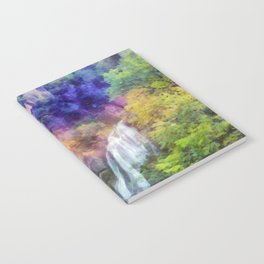 Mountain waterfall Notebook