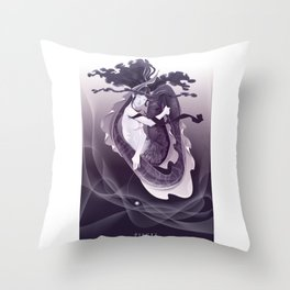 PISCES, 12th zodiacal sign. Throw Pillow