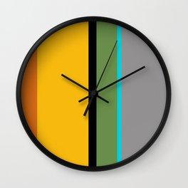Umbrella Stripe Wall Clock