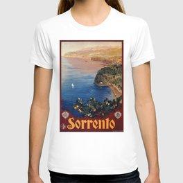 Italy Sorrento Bay of Naples vintage Italian travel T-shirt