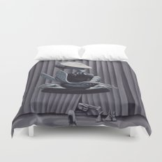 Liberation, With String Duvet Cover