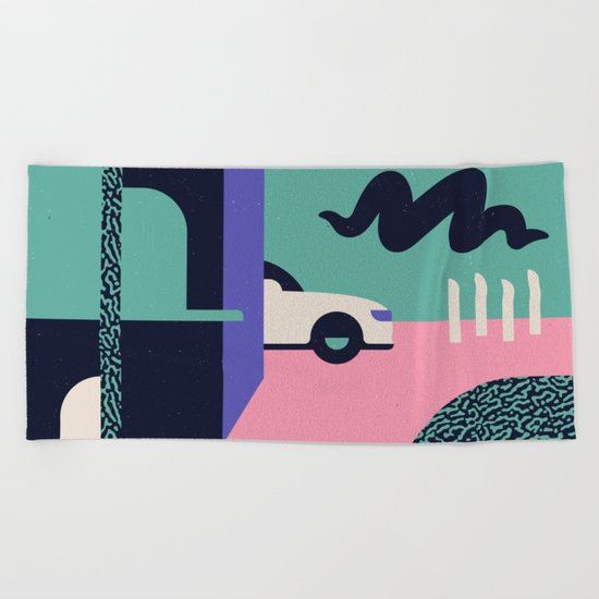 Creepster Beach Towel